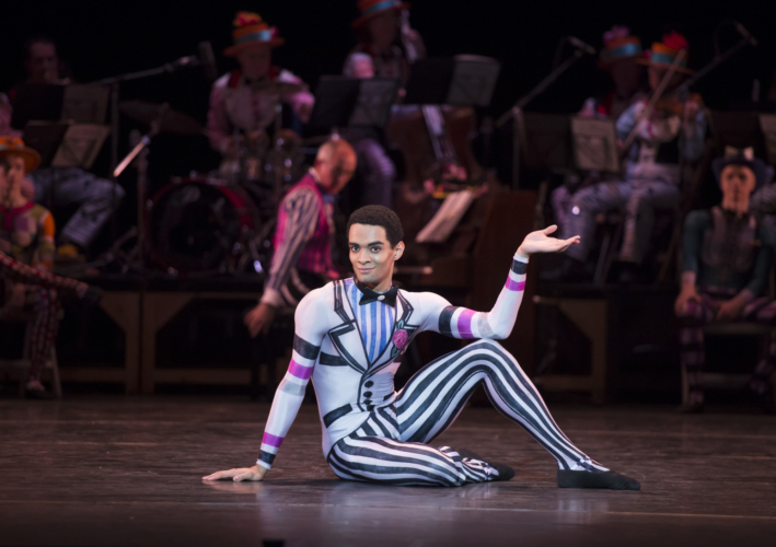 <p><em>Elite Syncopations: </em>Brandon Lawrence in 'Friday Night'</p>. Credit: Bill Cooper.