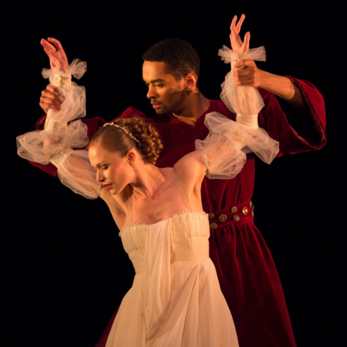 <p><em>The Moor's Pavane:</em> Brandon Lawrence as The Moor and Yvette Knight as His Wife</p>. Credit: Andrew Ross.