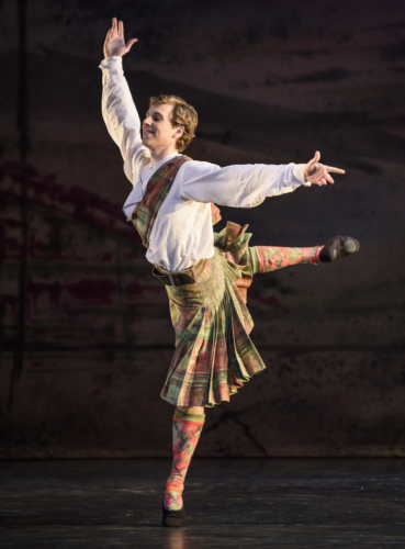 <p><em>Four Scottish Dances: </em>Feargus Campbell</p>. Credit: Bill Cooper.
