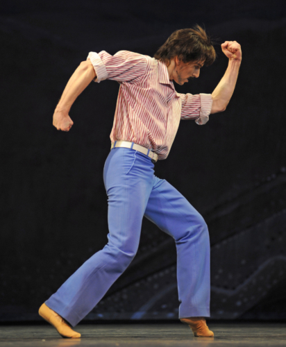 <p><em>Daphnis and Chloë: </em>Feargus Campbell as Dorkon</p>. Credit: Roy Smiljanic.