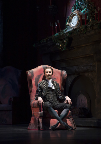 <p><em>The Nutcracker:</em> Valentin Olovyannikov as Drosselmeyer</p>. Credit: Bill Cooper.
