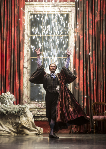 <p><em>The Nutcracker: </em>Valentin Olovyannikov as Drosselmeyer</p>. Credit: Bill Cooper.