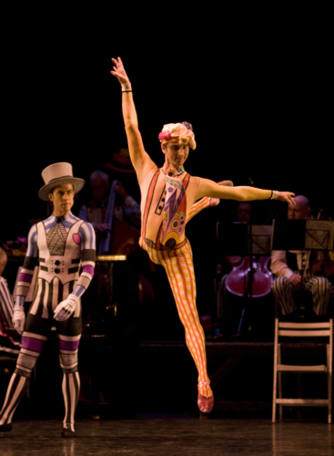 <p><em>Elite Syncopations: </em>Valentin Olovyannikov in 'Hot House Rag'</p>. Credit: Bill Cooper.
