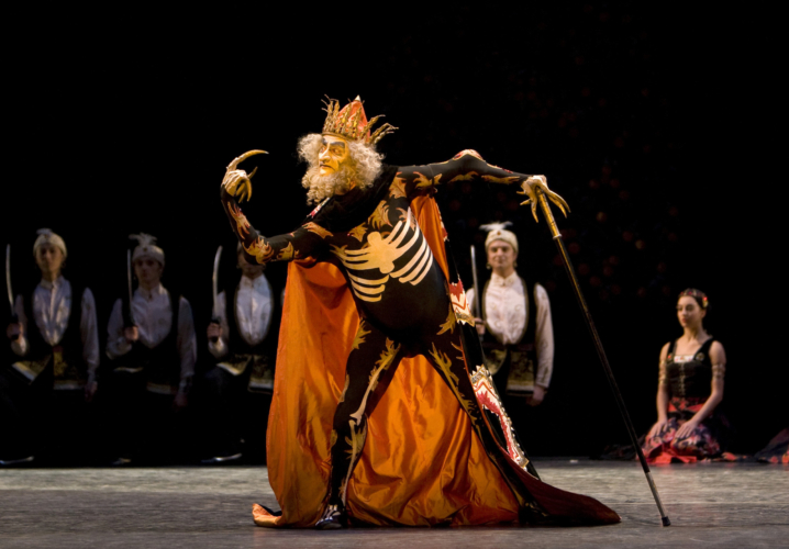 <p><em>The Firebird: </em>Valentin Olovyannikov as the Immortal Kostcheï</p>. Credit: Bill Cooper.