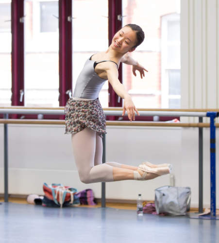 <p><em>Solitaire in rehearsal: </em>Yaoqian Shang as the Girl</p>. Credit: Andrew Ross.