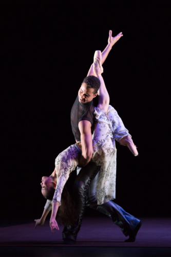 <p><em>The Shakespeare Suite:</em> Yaoqian Shang as Juliet and Edivaldo Souza da Silva as Romeo</p>. Credit: Andrew Ross.