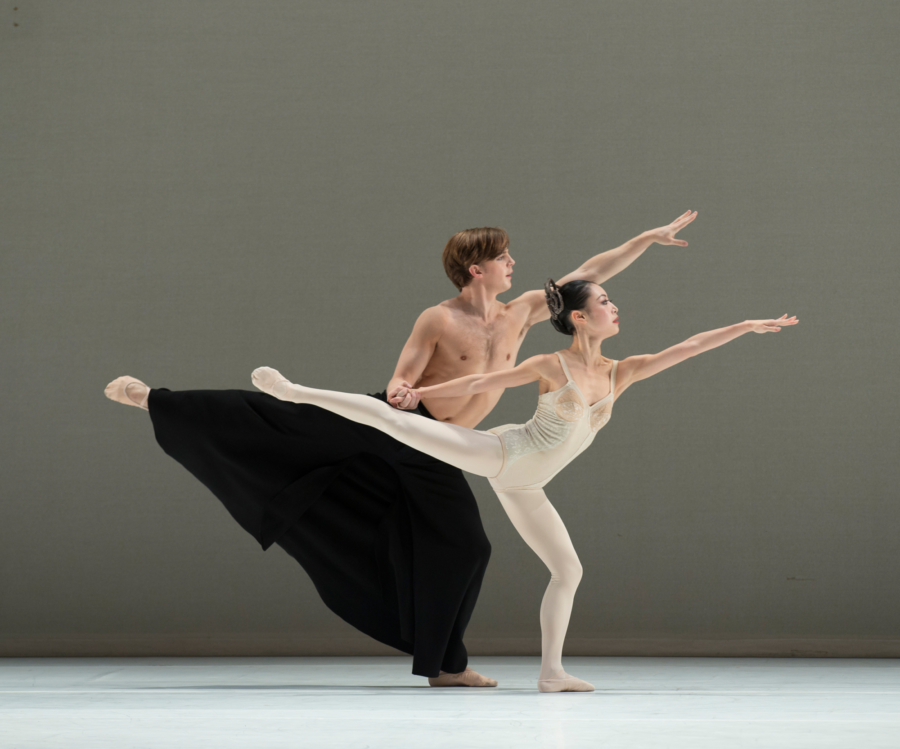 <p><em>Grosse Fuge:</em> Momoko Hirara and Joseph Caley</p>. Credit: Bill Cooper.