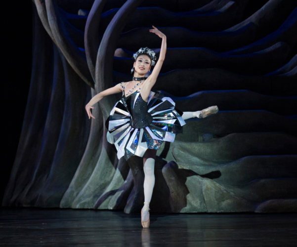 <p><em>Aladdin: </em>Momoko Hirata in 'Diamond'</p>. Credit: Bill Cooper.