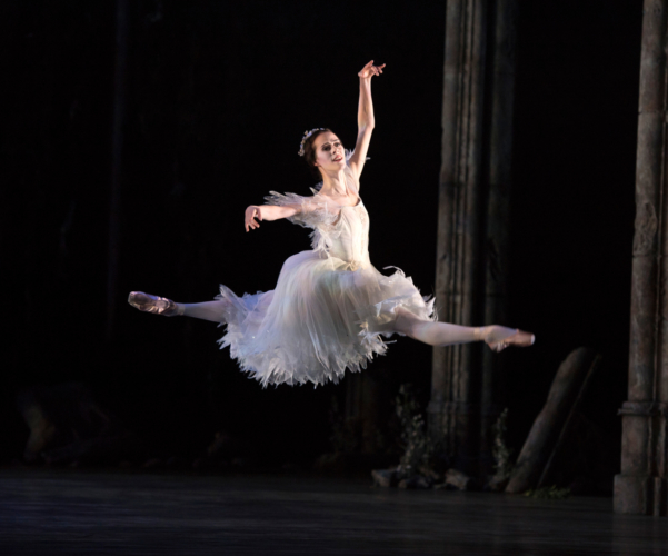 <p><em>Giselle:</em> Samara Downs as Myrtha</p>. Credit: Bill Cooper.