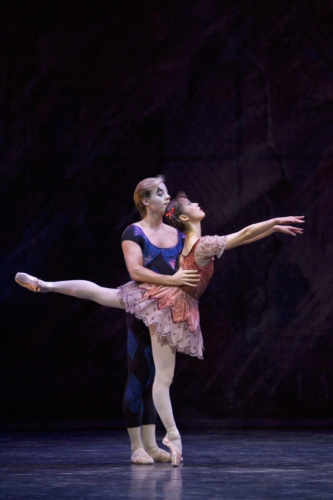 <p><em>Solitaire:</em> Nao Sakuma and Steven Monteith</p>. Credit: Bill Cooper.