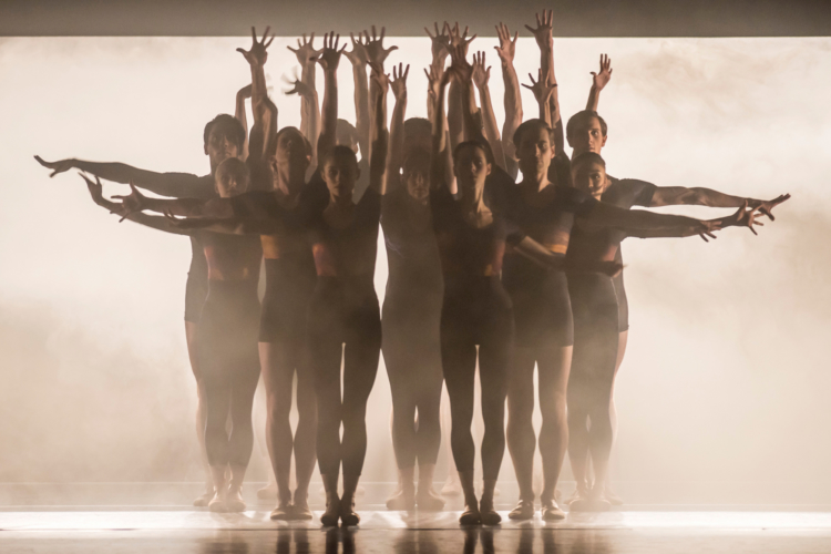 <p><em>E=mc²</em><em>: </em>Artists of Birmingham Royal Ballet in 'Energy'</p>. Credit: Bill Cooper.