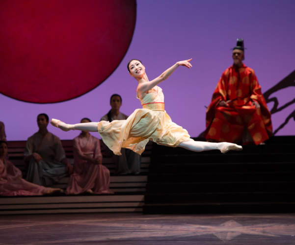 <p><em>The Prince of the Pagodas: </em>Momoko Hirata as Princess Belle Sakura and Artist of Birmingham Royal Ballet</p>. Credit: Bill Cooper.