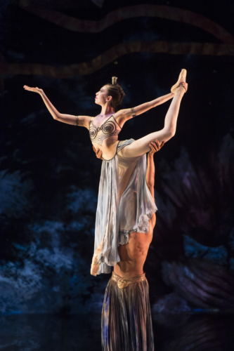 <p><em>The Nutcracker:</em> Alys Shee in the 'Arabian Dance'</p>. Credit: Bill Cooper.