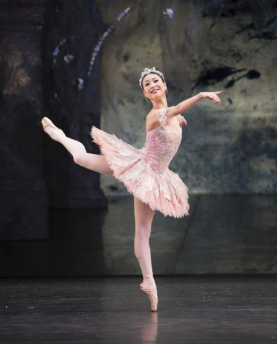 <p><em>The Nutcracker: </em>Momoko Hirata as the Sugar Plum Fairy</p>. Credit: Bill Cooper.