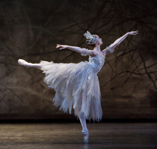 <p><em>The Nutcracker:</em> Jenna Roberts as the Snow Fairy</p>. Credit: Bill Cooper.
