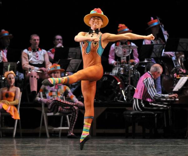 <p><em>Elite Syncopations: </em>Tzu-Chao Chou in 'Hothouse Rag'</p>. Credit: Phil Hitchman.