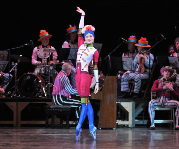 <p><em>Elite Syncopations: </em>Delia Mathews in 'Calliope Rag'</p>. Credit: Phil Hitchman.