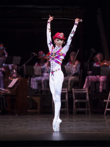 <p><em>Elite Syncopations: </em>Céline Gittens in 'Stoptime Rag'</p>. Credit: Bill Cooper.