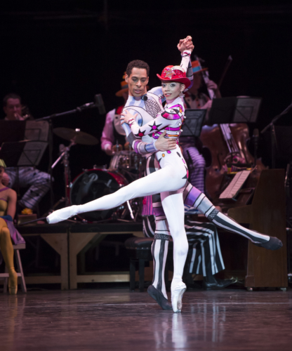 <p><em>Elite Syncopations: </em>Céline Gittens and Tyrone Singleton in 'Bethena Concert Waltz'</p>. Credit: Bill Cooper.