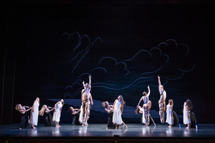 <p><em>Dante Sonata: </em>Artists of Birmingham Royal Ballet</p>. Credit: Bill Cooper.