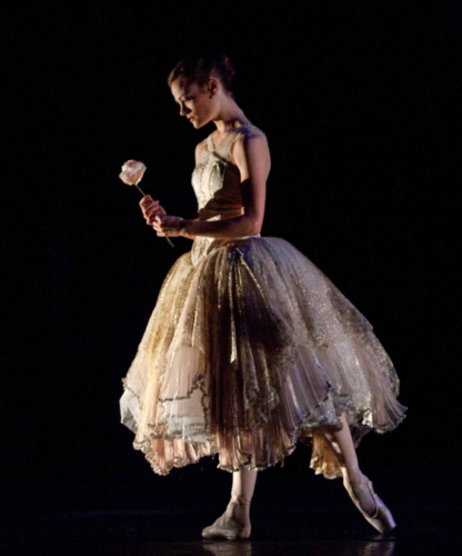 <p><em>Beauty and the Beast: </em>Delia Mathews as Belle</p>. Credit: Caroline Holden.