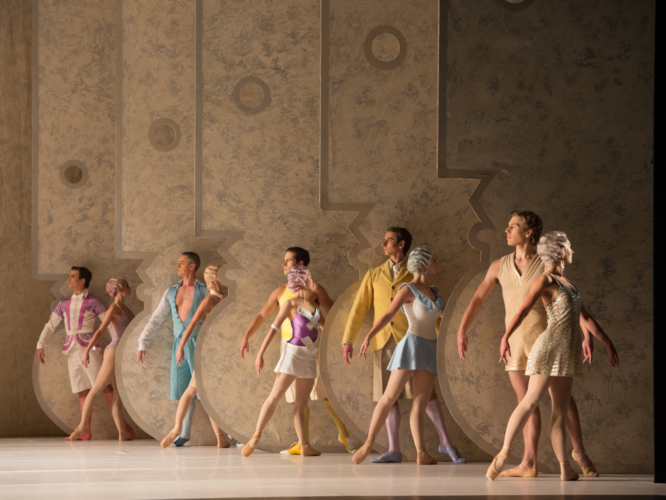 <p><em>La Fin du jour: </em>Artists of Birmingham Royal Ballet</p>. Credit: Bill Cooper.