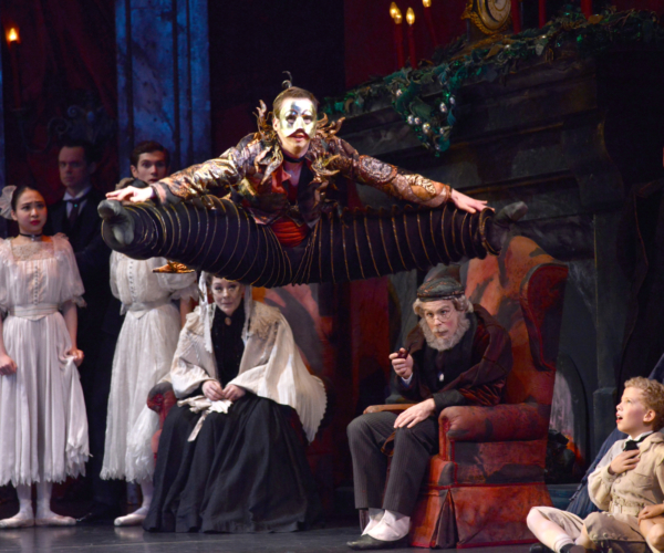 <p><em>The Nutcracker: </em>James Barton as the Jack-in-the-Box</p>. Credit: Roy Smiljanic.