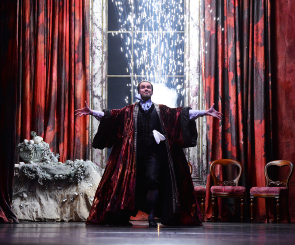 <p><em>The Nutcracker: </em>Jonathan Payn as Drosselmeyer</p>. Credit: Roy Smiljanic.