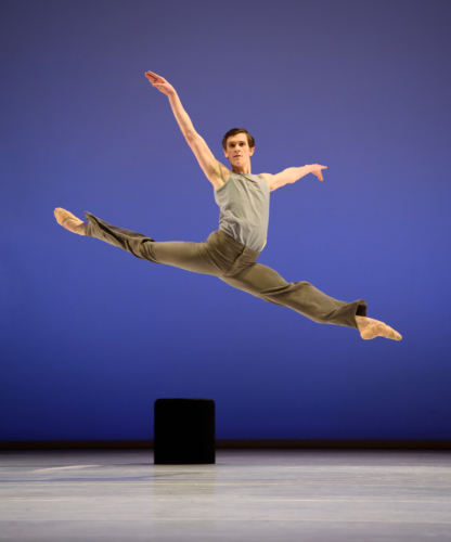 <p><em>Lyric Pieces</em>: William Bracewell in 'Norwegian Dance'</p>. Credit: Bill Cooper.