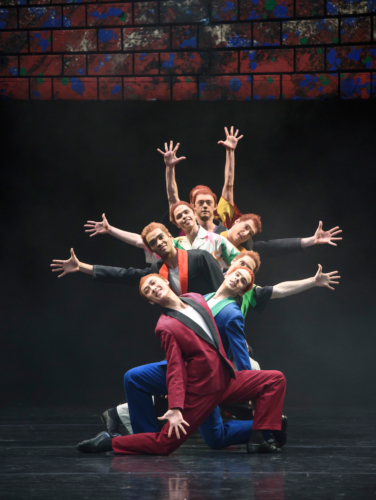 <p><em>Carmina burana: </em>Yasuo Atsuji and Artists of Birmingham Royal Ballet</p>. Credit: Bill Cooper.