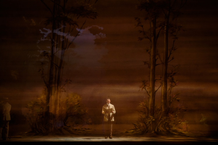 <p><em>Enigma Variations: </em>Jonathan Payn as Edward Elgar</p>. Credit: Bill Cooper.