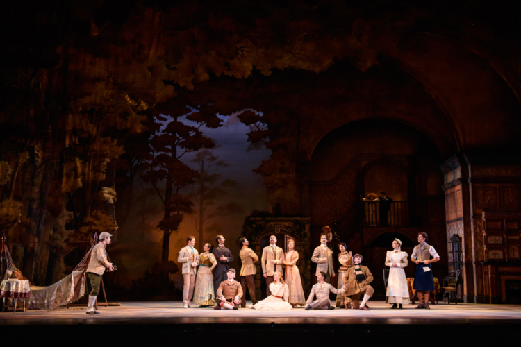<p><em>Enigma Variations:</em> Artists of Birmingham Royal Ballet</p>. Credit: Bill Cooper.
