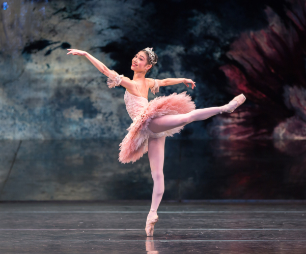 <p><em>The Nutcracker: </em>Momoko Hirata as the Sugar Plum Fairy</p>. Credit: Andrew Ross.