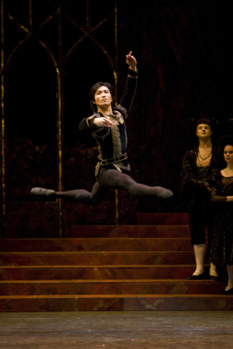 <p><em>Swan Lake:</em> Chi Cao as Prince Siegfried</p>. Credit: Bill Cooper.