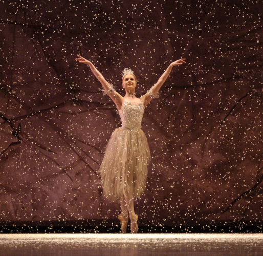 <p><em>The Nutcracker: </em>Jenna Roberts as the Snow Fairy</p>. Credit: Roy Smiljanic.