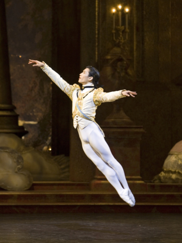 <p><em>The Sleeping Beauty: </em>Chi Cao is Prince Florimund</p>. Credit: Bill Cooper.
