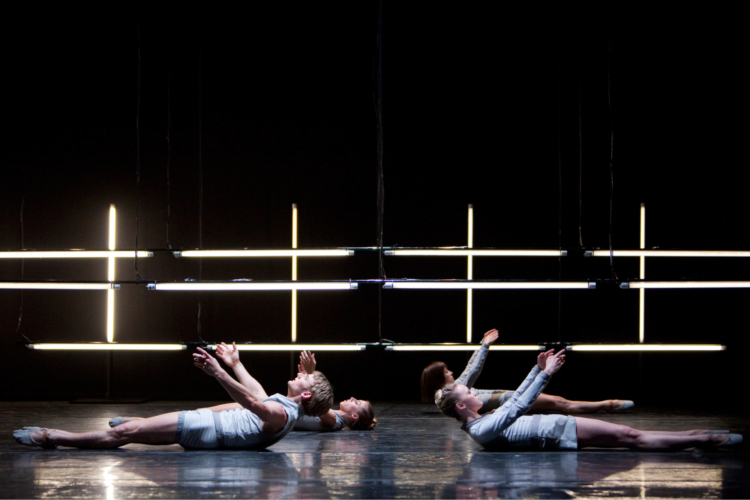 <p><em>The Centre and its Opposite: </em>Dusty Button, Aaron Robison, Victoria Marr and Laura Purkiss</p>. Credit: Bill Cooper.