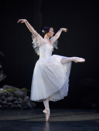 <p><em>Giselle:</em> Elisha Willis as Giselle</p>. Credit: Bill Cooper.