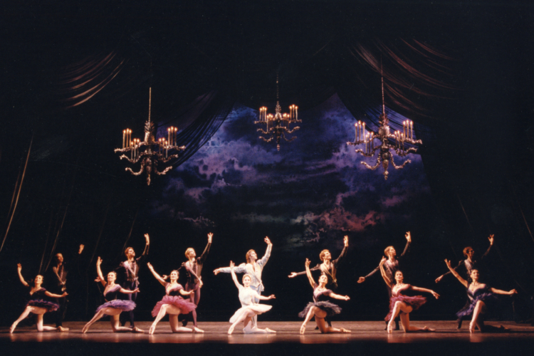 <p><em>Birthday Offering:</em> Artists of Birmingham Royal Ballet</p>. Credit: Bill Cooper.