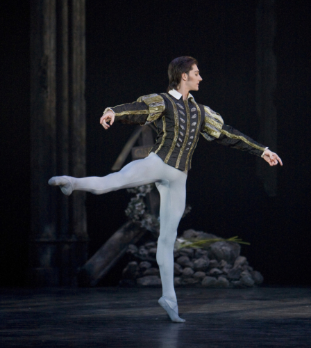 <p><em>Giselle: </em>Jamie Bond as Albrecht</p>. Credit: Bill Cooper.