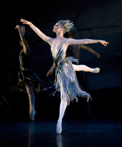 <p><em>Le Baiser de la fée: </em>Jenna Roberts as the Fairy</p>. Credit: Bill Cooper.