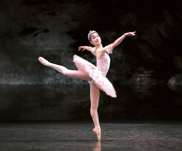 <p><em>The Nutcracker:</em> Nao Sakuma as the Sugar Plum Fairy</p>. Credit: Steve Hanson @Emma Rothera.