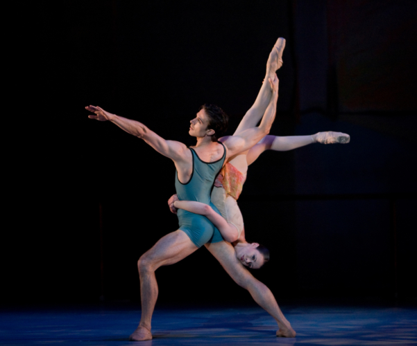 <p><em>The Dance House:</em> Natasha Oughtred and Matthew Lawrence</p>. Credit: Bill Cooper.