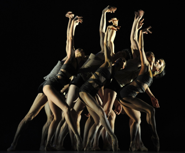 <p><em>E=mc²</em><em>: </em>Artists of Birmingham Royal Ballet in 'Energy'</p>. Credit: Roy Smiljanic.
