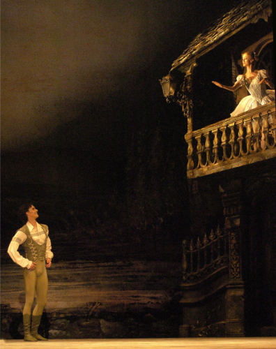 <p><em>Coppélia: </em>Iain Mackay as Franz and Laura Purkiss as Coppélia</p>. Credit: Roy Smiljanic.