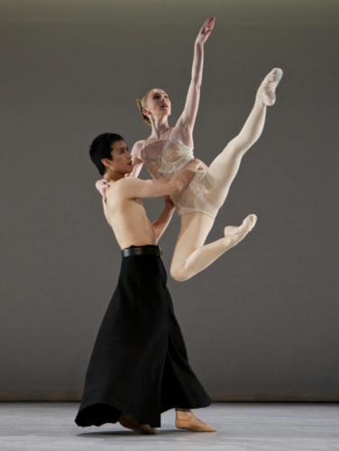 <p><em>Grosse Fuge: </em>Elisha Willis and Chi Cao</p>. Credit: Andrew Ross.