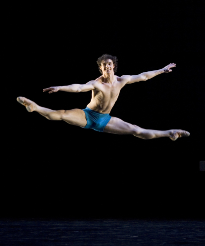 <p><em>The Four Seasons:</em> Iain Mackay in 'Summer'</p>. Credit: Bill Cooper.