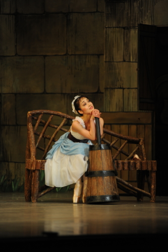 <p><em>La Fille mal gardée:</em> Nao Sakuma as Lise</p>. Credit: Roy Smiljanic.