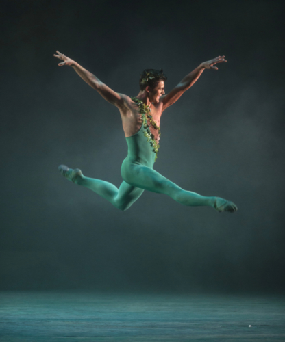 <p><em>The Dream: </em>Mathias Dingman as Puck</p>. Credit: Bill Cooper.