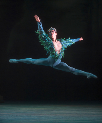 <p><em>The Dream: </em>Chi Cao as Oberon</p>. Credit: Bill Cooper.